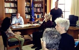 Για το νοσοκομείο συζήτησαν ο Δήμαρχος και  μέλη της Επιτροπής Αγώνα Ιεράπετρας