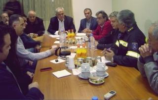 Ευρεία σύσκεψη παρουσία του Γενικού Γραμματέα Πολιτικής Προστασίας  στο δήμο Ιεράπετρας